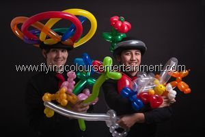 Balloon Modellers for Christmas Parties