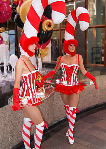 Candy Cane Girls