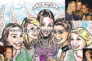 Caricaturistas for Christmas Parties