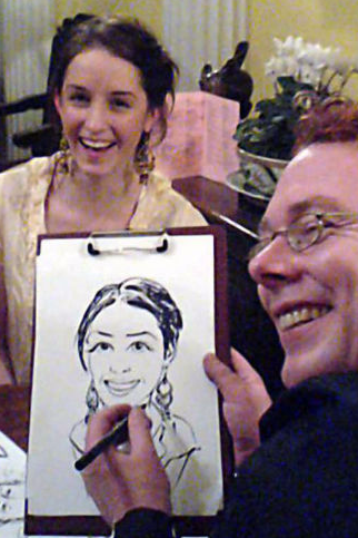 Caricaturists for Christmas events