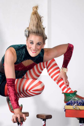 Acrobats for Christmas events