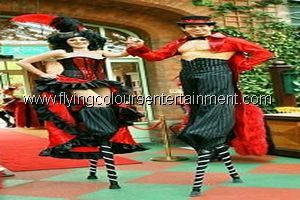 Moulin Rouge Acts for Christmas Parties