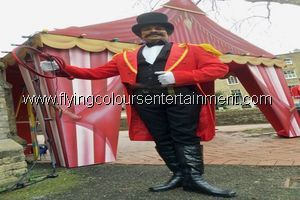 Circus Themed Acts for Christmas Parties